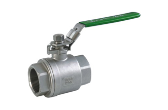 4E 1000# CF8M Stainless Steel 2PC Ball Valve